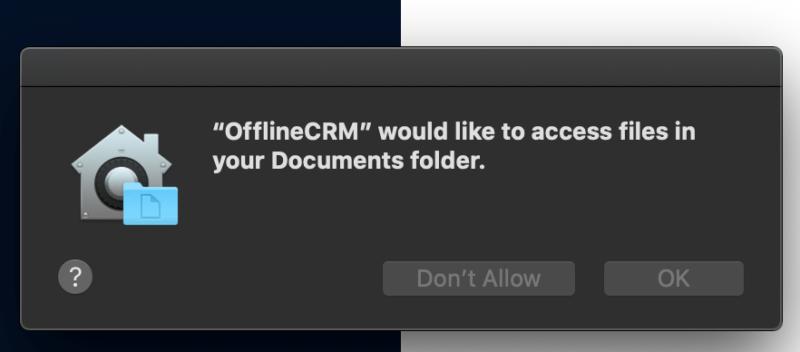 установка бесплатной CRM на Apple MacOS